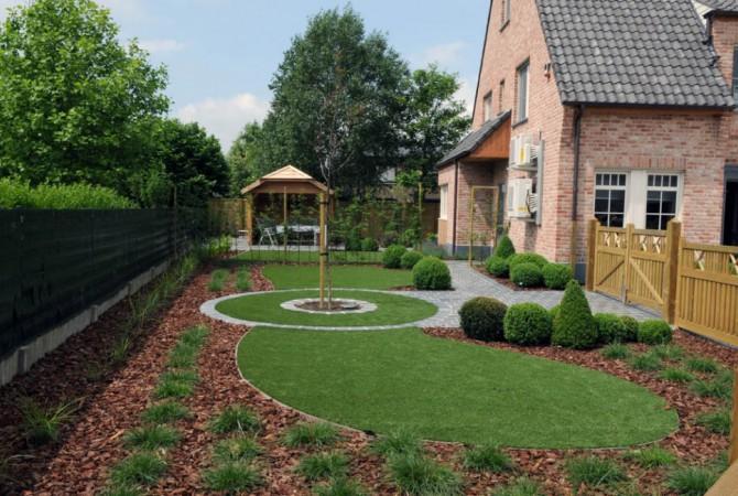 kunstgras/tuin/vormen