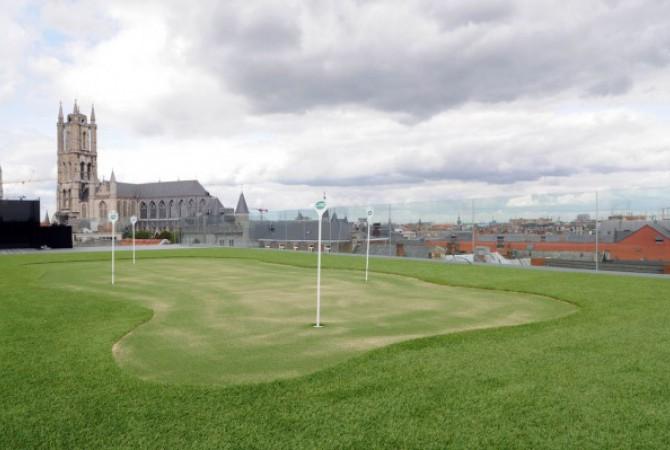 kunstgras/golf/dak